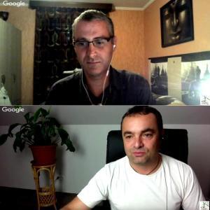 Sylvain Didelot et Stéphane Colle