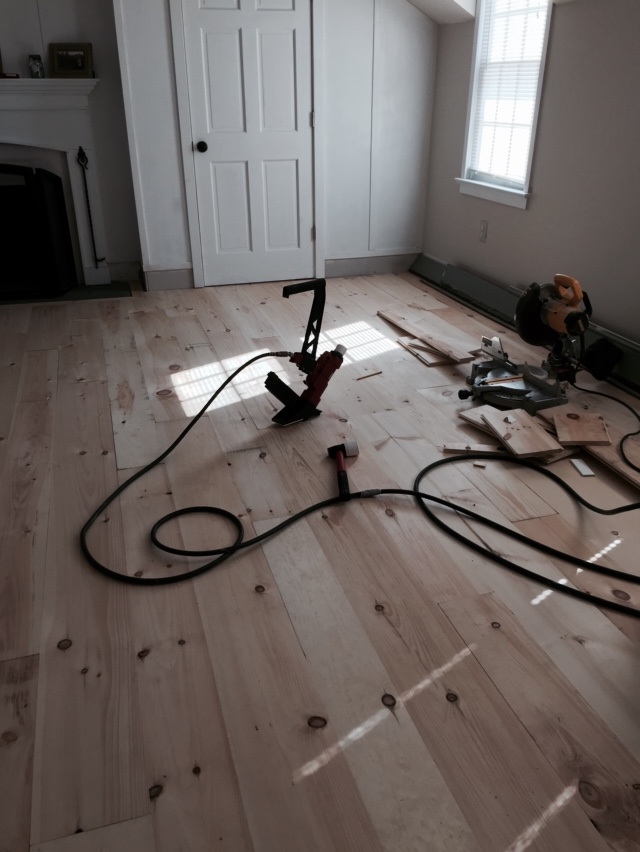Using Pine Boards As Flooring ~ Diy unfinished wide pine floors review lehman lane