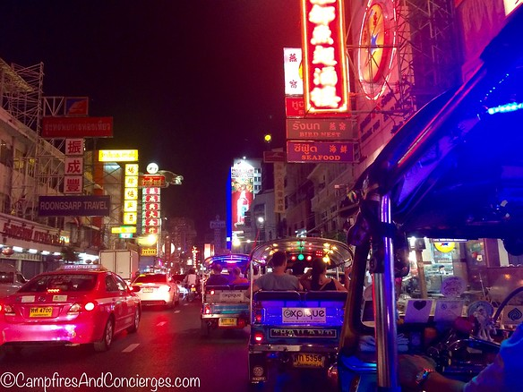 Expique - Bangkok Night Lights TukTuk TourChinatown