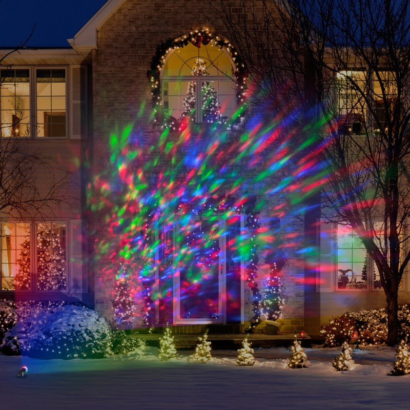 Pretentious Lightshow Kaleidoscope Multi Colored Lights Walmart Most ...