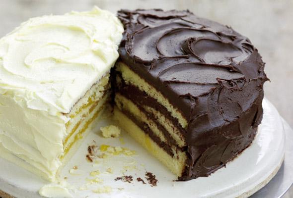 Paleo Doberge Cake