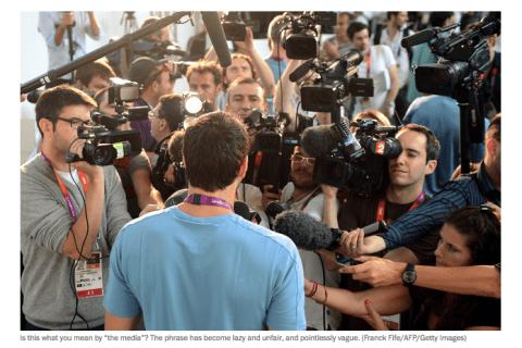 Il n'y a plus que 32% des Américains à faire confiance aux médias.