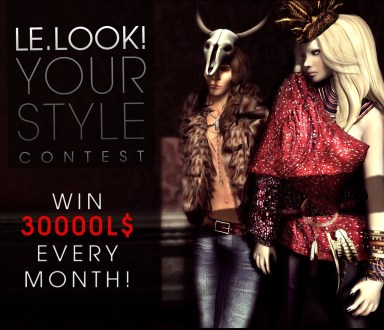 .: LE.LOOK! YOUR STYLE CONTEST APRIL :.