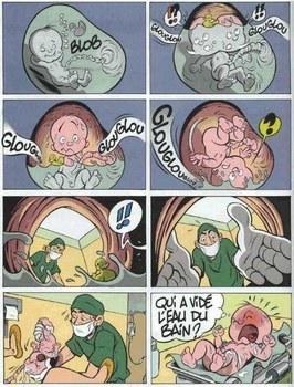 la naissance pour en rire