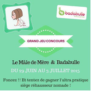 CONCOURS BADABULLE – LE REHAUSSEUR NOMADE