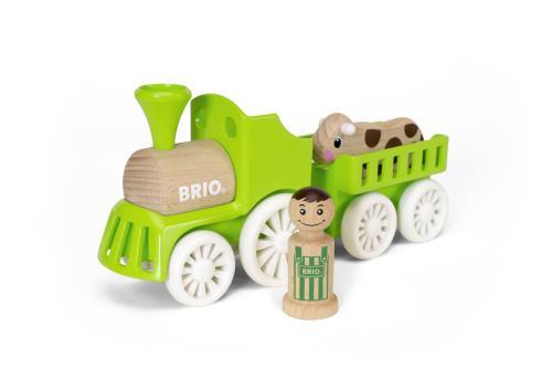 Train de la ferme BRIO - Prix : environ 29 €