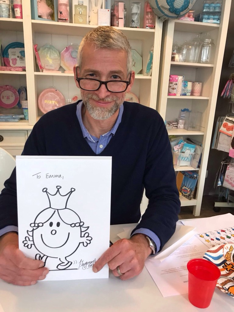 Rencontre avec Adam HARGREAVES, Auteur et Illustrateur des Monsieur Madame