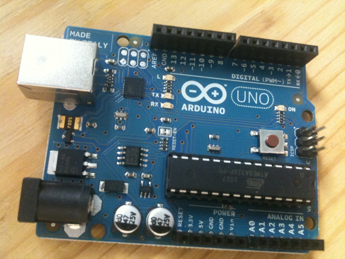 An introduction to Arduino, Raspberry Pi, and open source hardware.