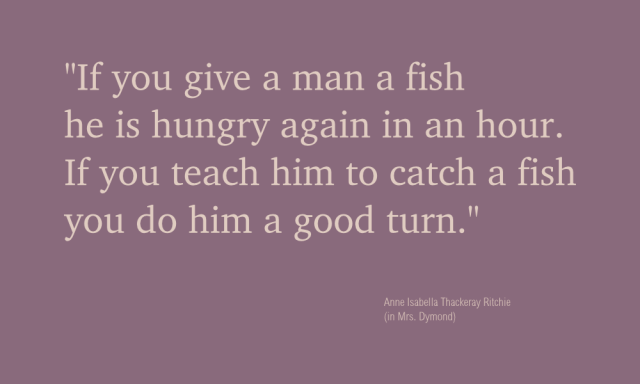41 of 365 - teach a man to fish design principle by John LeMasney via lemasney.com