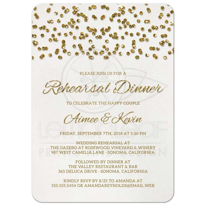 Large Of Rehearsal Dinner Invitations