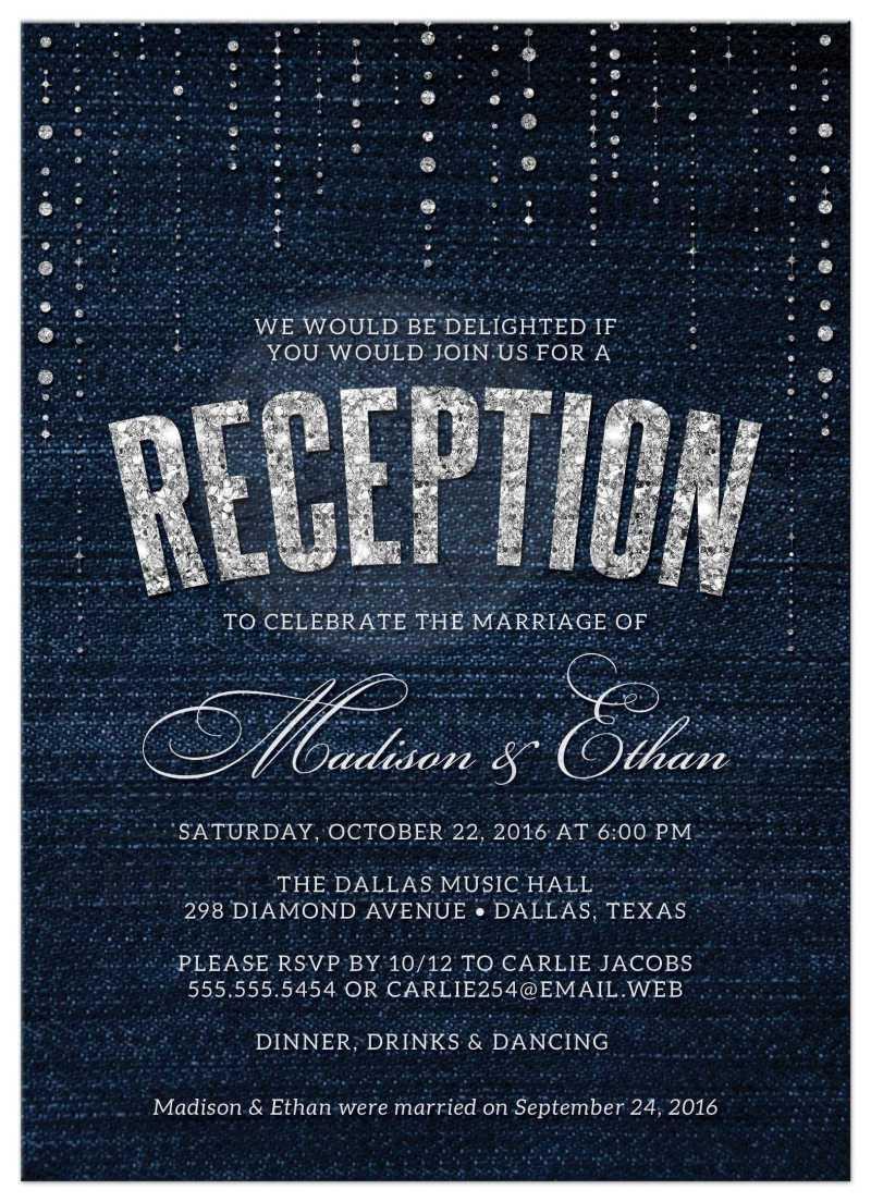 Large Of Wedding Reception Invitations
