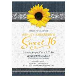 Small Of Sweet 16 Invitations