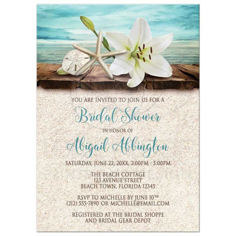 Large Of Bridal Shower Invitation Wording