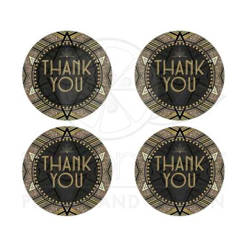 Medium Of Thank You Stickers