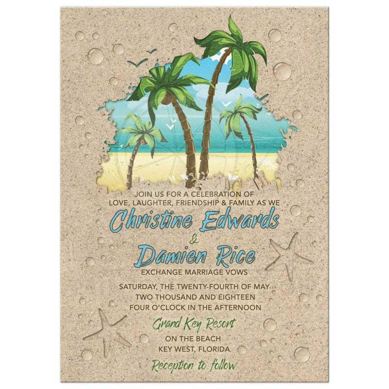 Large Of Beach Wedding Invitations