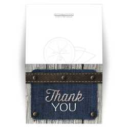 Small Crop Of Photo Thank You Cards