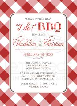 Engaging Couples Shower Invitations I Do Bbq Red Gingham Country Mexican Couples Wedding Shower Invitations Couples Shower Invitations Free Printables