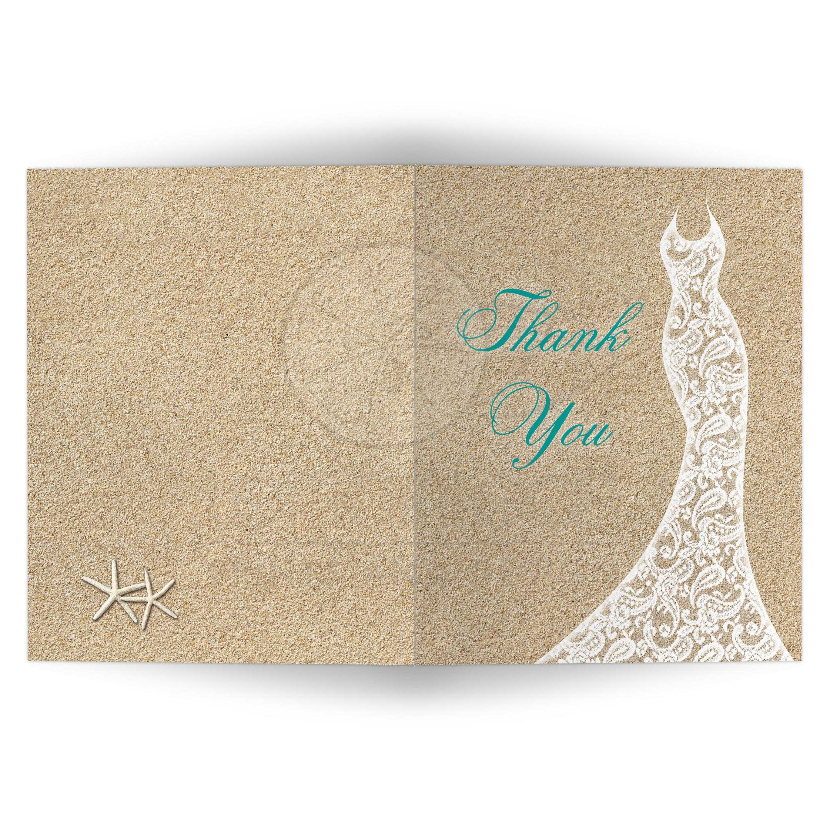 Exciting Beach Bridal Shower Thank You Card Turquoise Type Bridal Shower Thank You Card Beach Turquoise Vertical Bridal Shower Thank You Cards Samples Bridal Shower Thank You Cards Cheap bridal shower Bridal Shower Thank You Cards