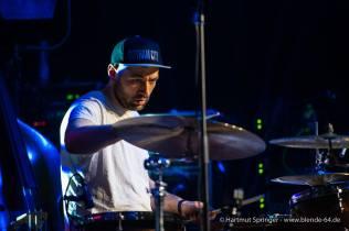 Lemon Lights as Amy McDonald Support Band @ Jazzfest Gronau. Photo by Hartmut Springer