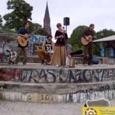 Berlin / Straßenmusiktour 2016