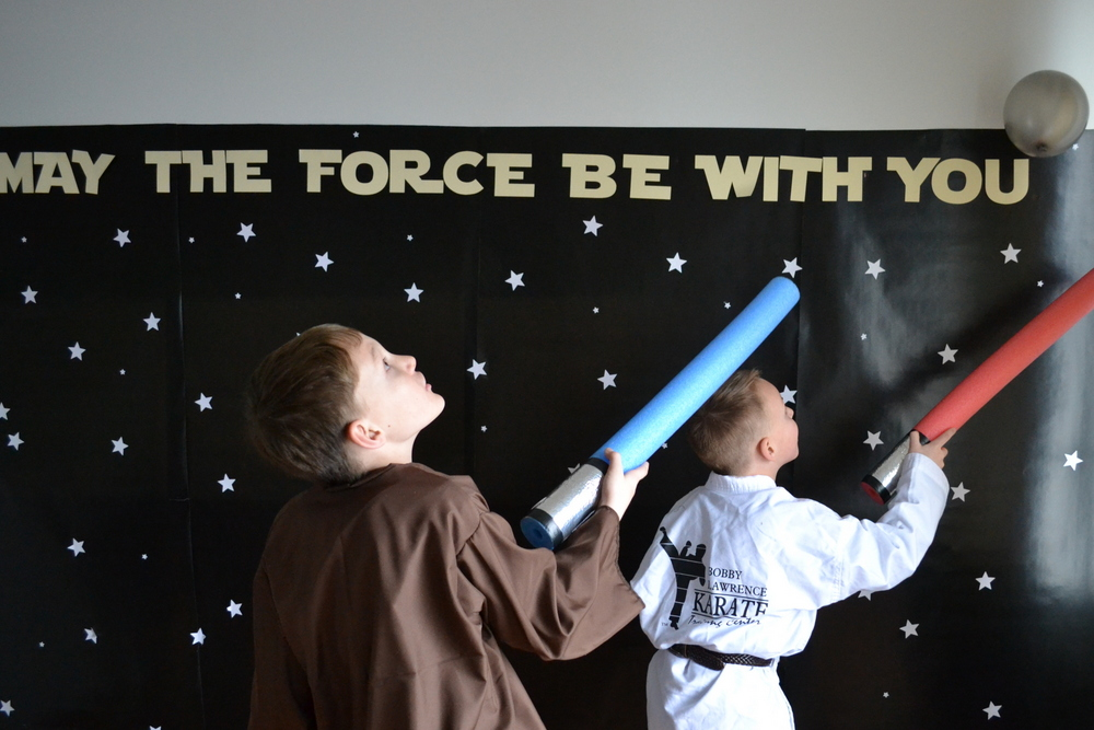 Star Wars Birthday Party // lemon squeezy home