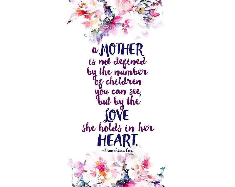 mother quote saying