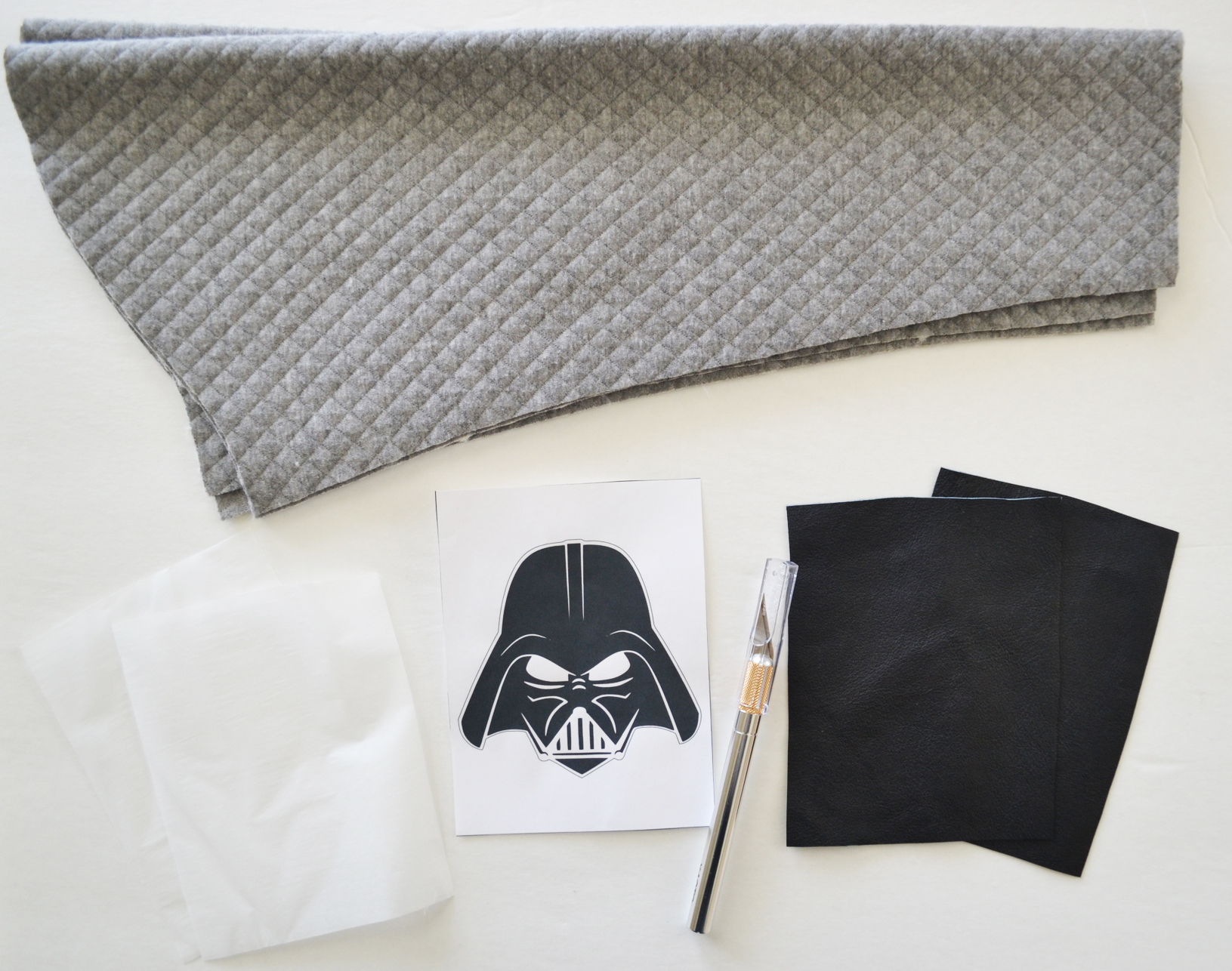 Leather Elbow Patch Tutorial // lemon squeezy home