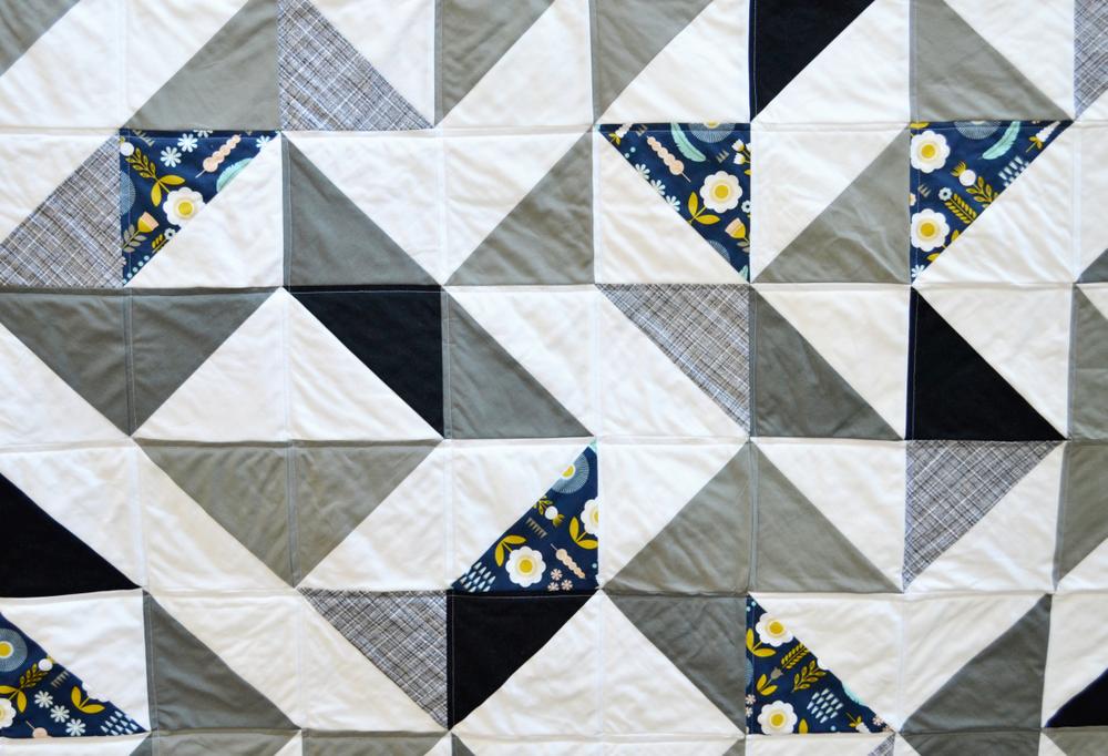 Triangle Quilt // lemon squeezy home