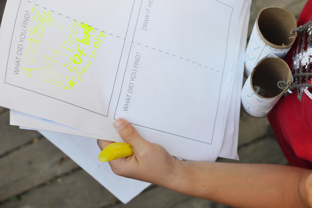 Andrea's Notebook Boredom Busters // lemon squeezy home