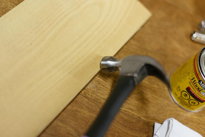 DIY Wooden Calendar Holder