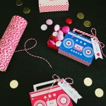 DIY Boombox Valentine's