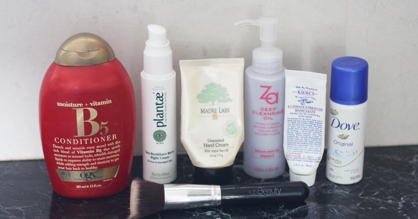 May Empties - OGX, Plantae, Madre Labs, Za, Kiehl's, Dove, XO Beauty - Lena Talks Beauty