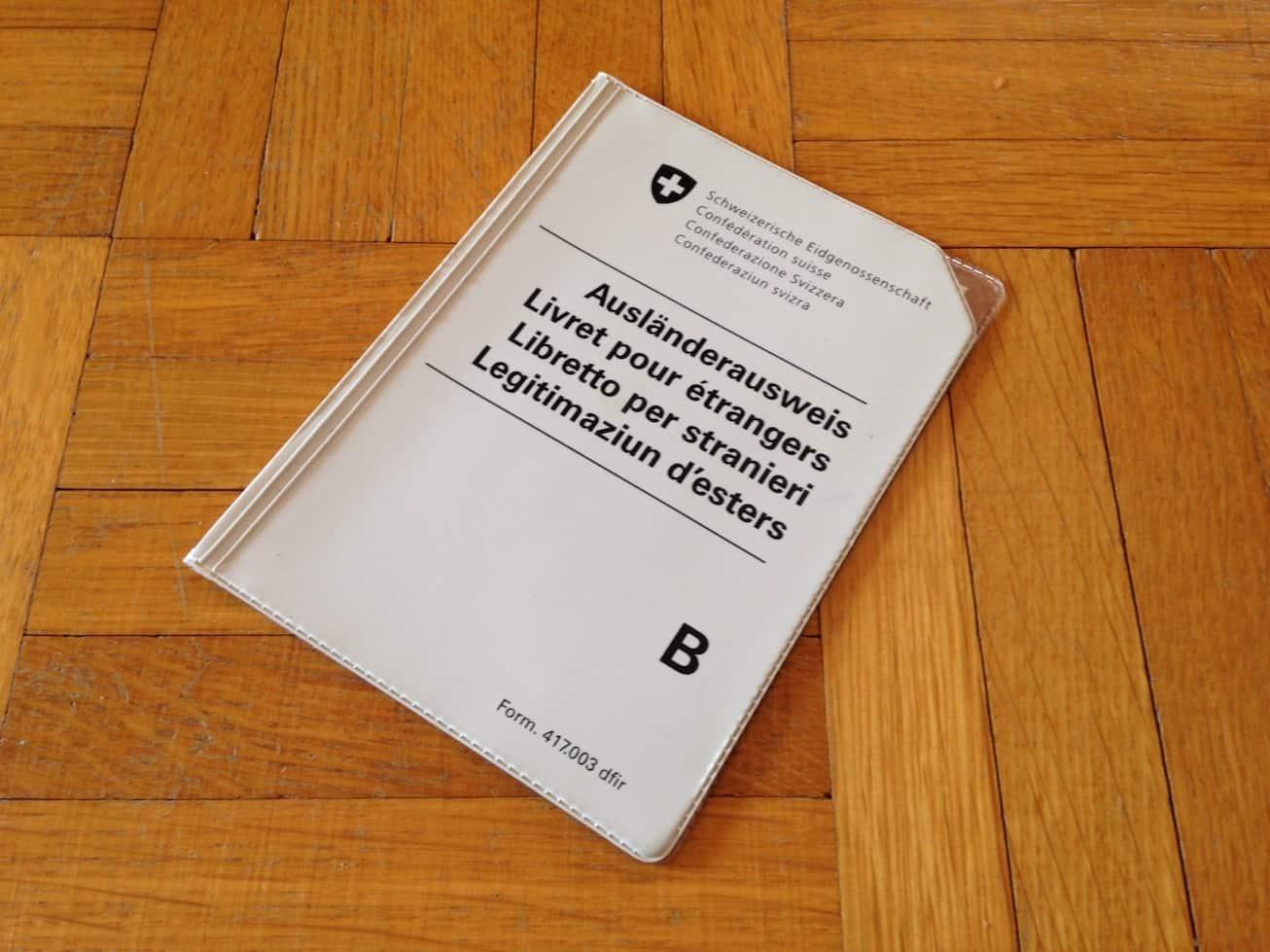 Swiss B permit
