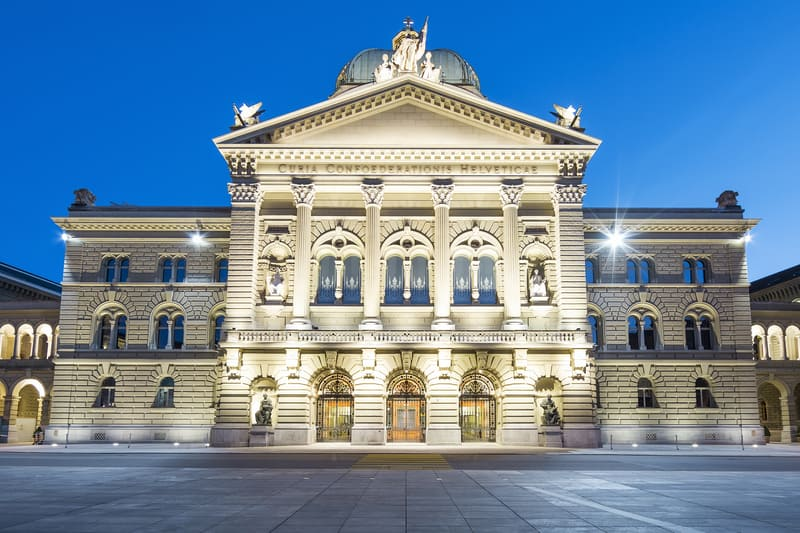 Swiss-parliament-in-Bern