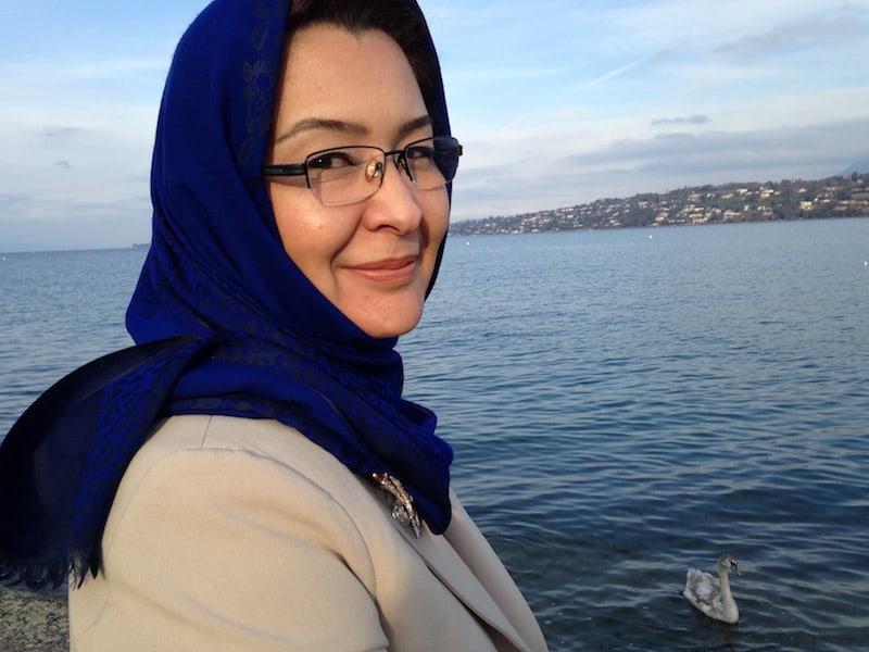 Suraya Dalil in Geneva