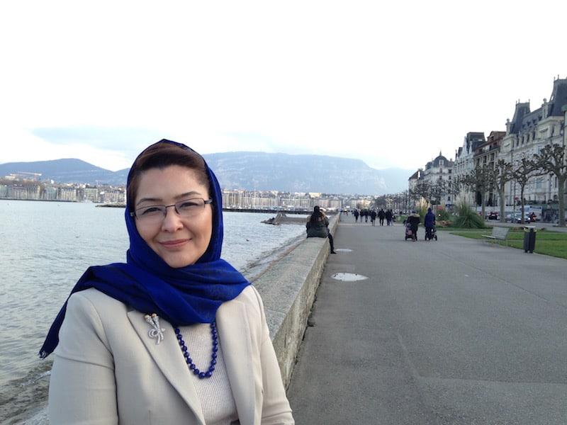 Surpaya Dalil Afghanistan's UN Ambassador in Geneva - Photo Renu Chahil-Graf