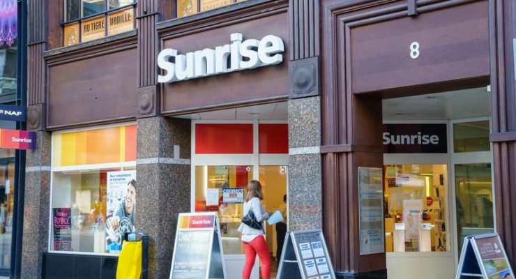 Sunrise beats Swisscom on mobile network coverage