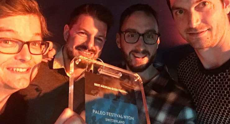 Nyon's Paleo music festival wins at European Festival Awards