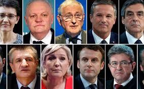 les onze candidats Source : leparisien.fr