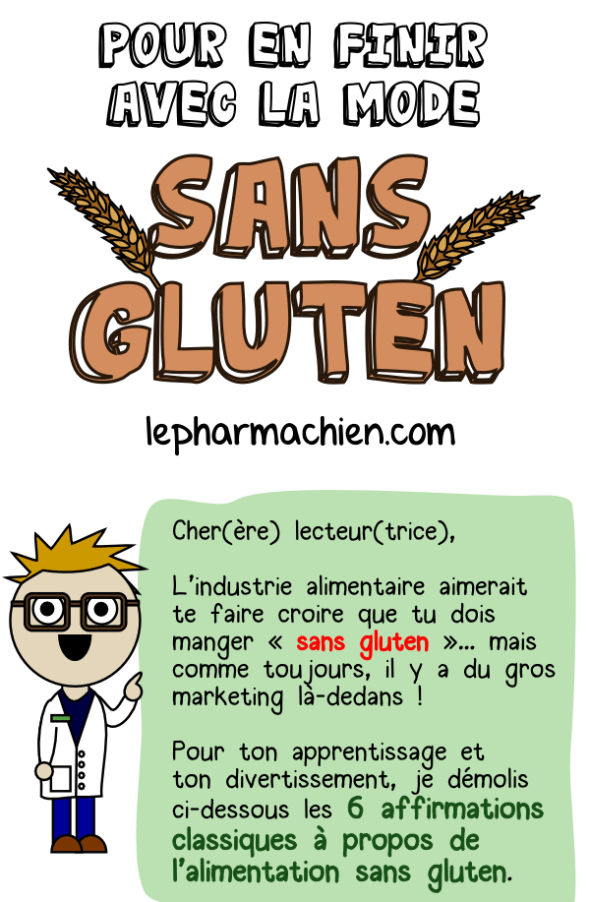Pour en finir avecla mode sans gluten - introduction