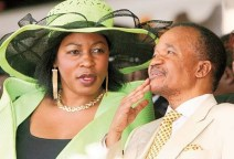 Vera Chiluba et son époux, l'ancien Président zambien.