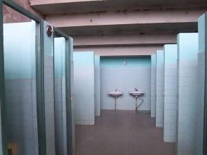 Les toilettes entièrement renovées