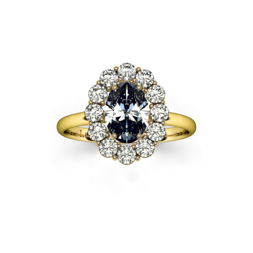 bague-entourage-marguerite-diamants-or-jaune-diamant-ovale-2