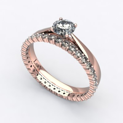 solitaire-mousquetaire-or-rose-0.30-carats-alliance-diamants-ronds-1.5mm-0