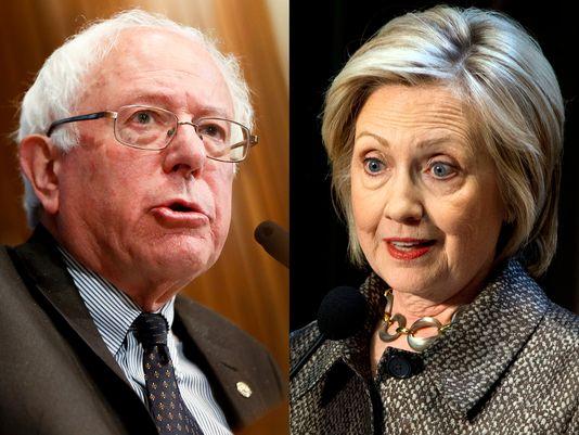 bernie Sanders et Hillary Clinton