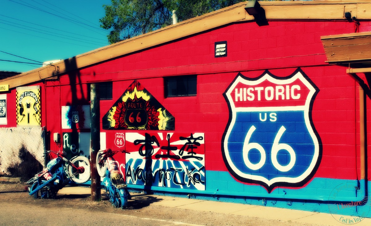 La Route 66 ou The Mother Road : De Los Angeles à Seligman