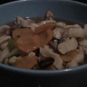 Soupe de supions à la hutong