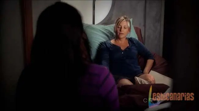 Callie y Arizona sin pierna