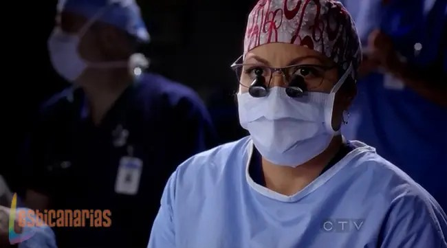Callie decidiendo el futuro de Arizona