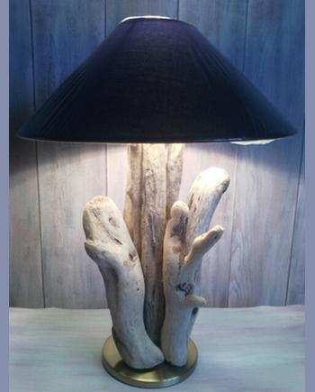 lampe bois flotte cap ferret manitriea